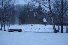 Кострома. Музей деревянного зодчества. Декабрь 2009