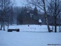 Церковь. Музей деревянного зодчества