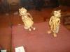 Буратино и Мальвина из бересты