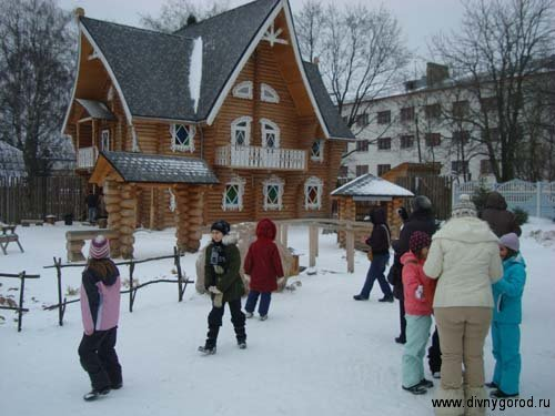 Кострома. Сказочный терем Снегурочки