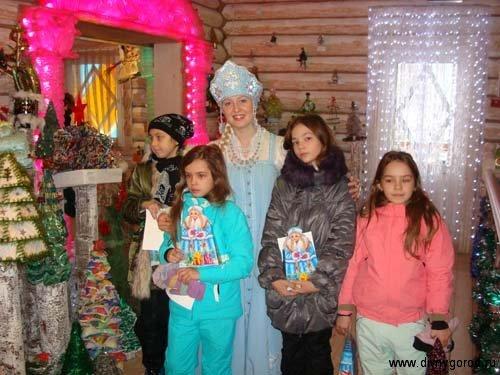 Гости Снегурочки