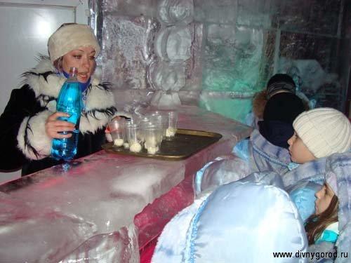 Мороженное от Снегурочки