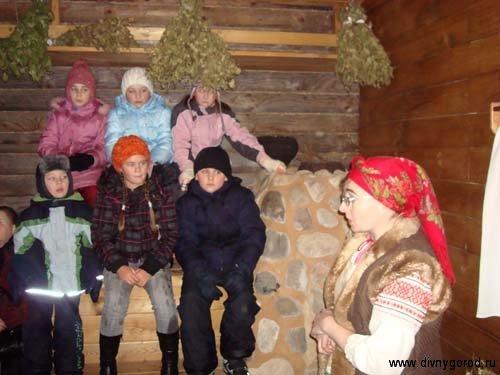 Рассказ о русской бане