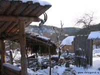 Музей древнерусской семьи зимой