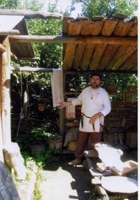 В музее древнерусской семьи