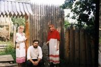 Создатель Музея древнерусской семьи, кандидат исторических наук П.Н. Травкин