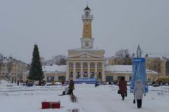 Прогулки по заснеженной Костроме. Декабрь 2010