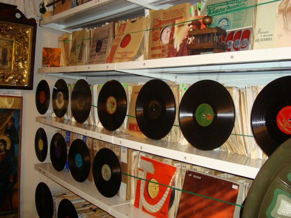 Музей Музыка и время. Коллекция пластинок
